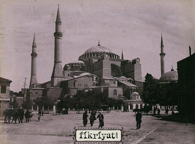 Osmanlı arşivinden İstanbul camilerinin fotoğrafları