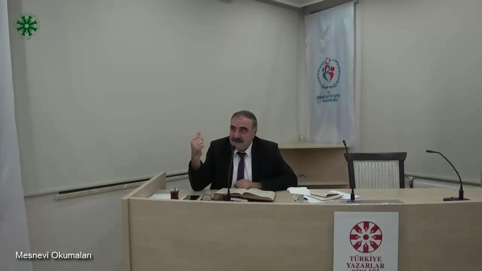 Mesnevî Okumaları -40- Doç. Dr. Yakup Şafak