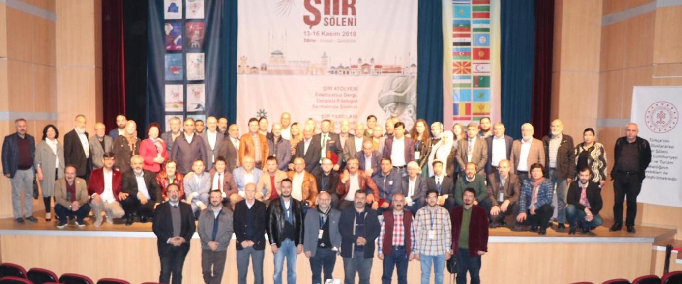 """""""Türkçenin Uluslararası 13. Şiir Şöleni"""" sona erdi"""