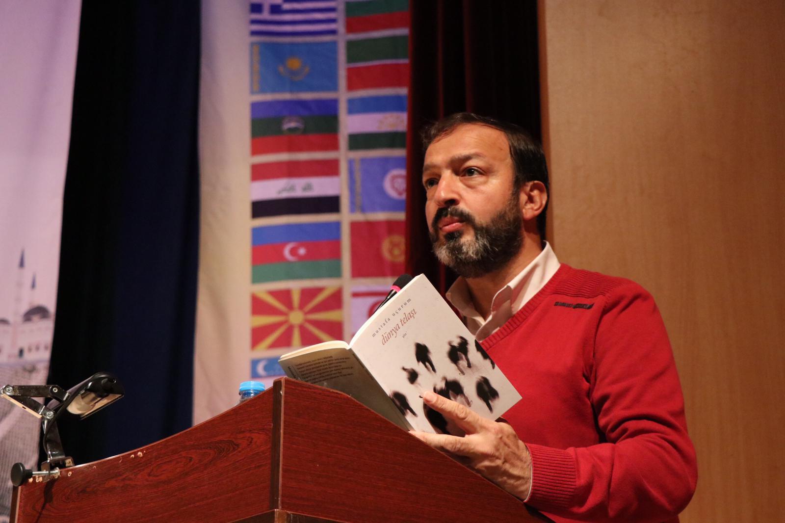 Mustafa Uçurum: TYB'nin 13. Şiir Şöleni