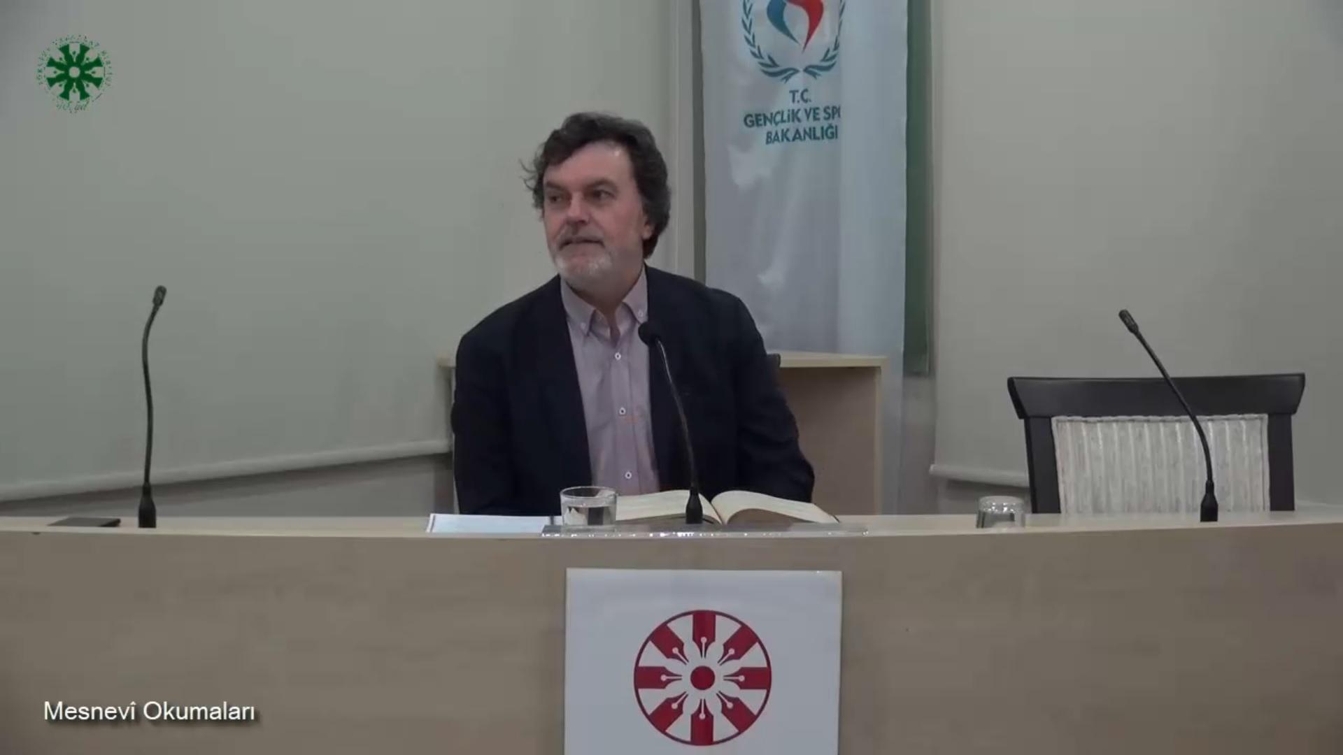Mesnevî Okumaları -43- Prof. Dr. Hicabi Kırlangıç