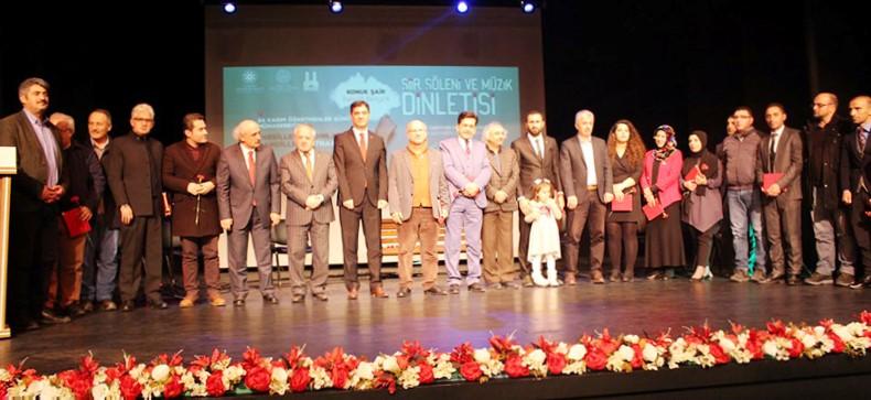 Erzurum Şubesi öğretmenler gününü şiirlerle, türkülerle kutladı