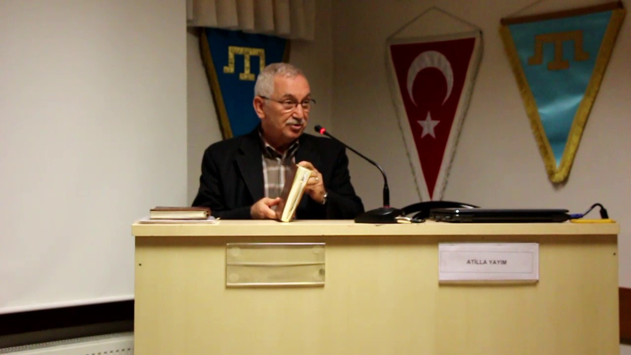 İstanbul'da 'Edebiyat Atlası' Atilla Yayım'ı Konuk Ediyor