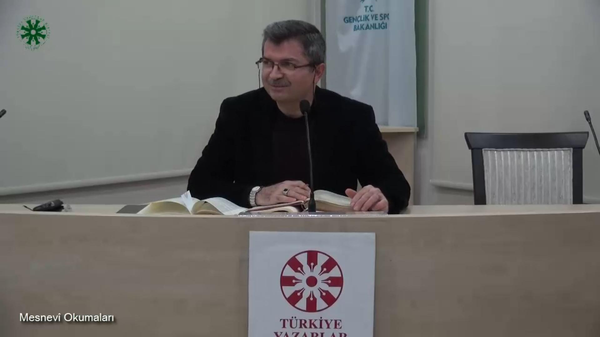 Mesnevî Okumaları -46- Dr. Fahrettin Coşguner