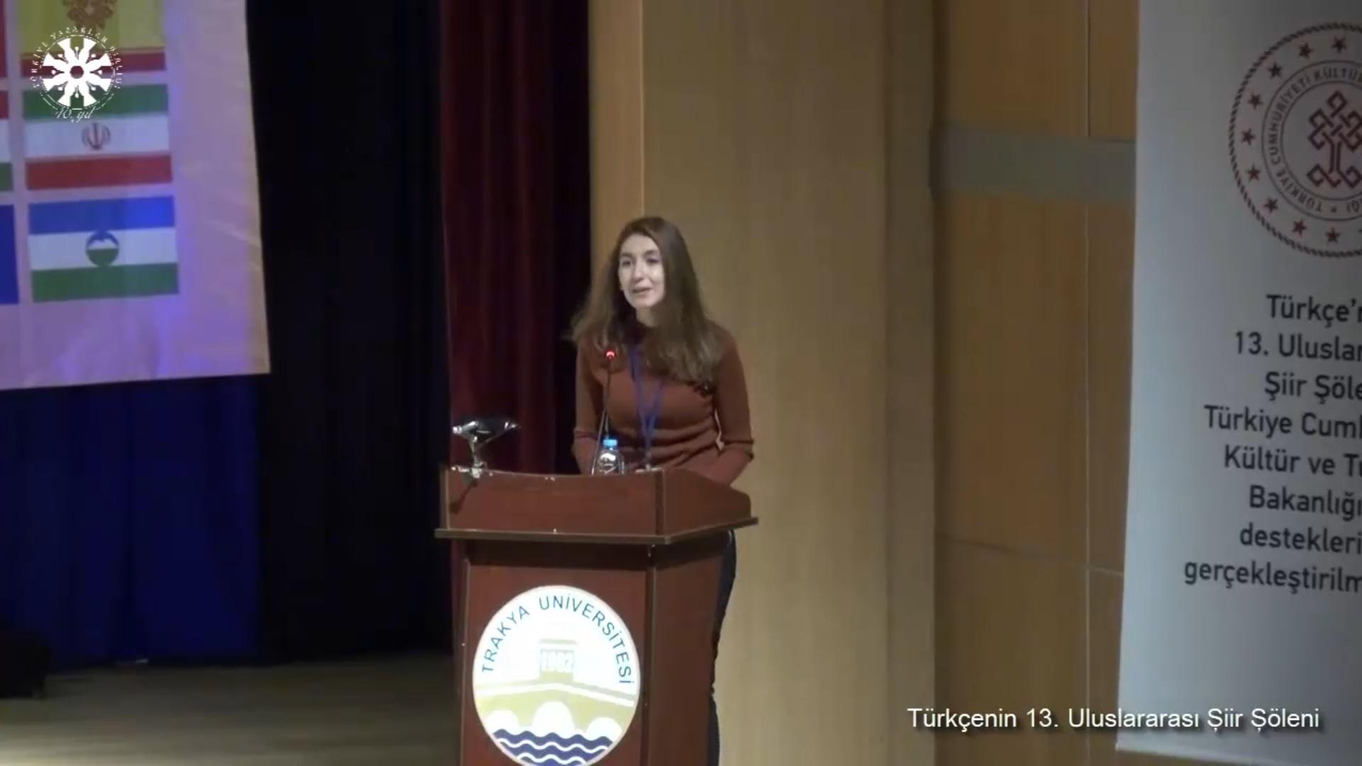 Canan Özer: Türkçe
