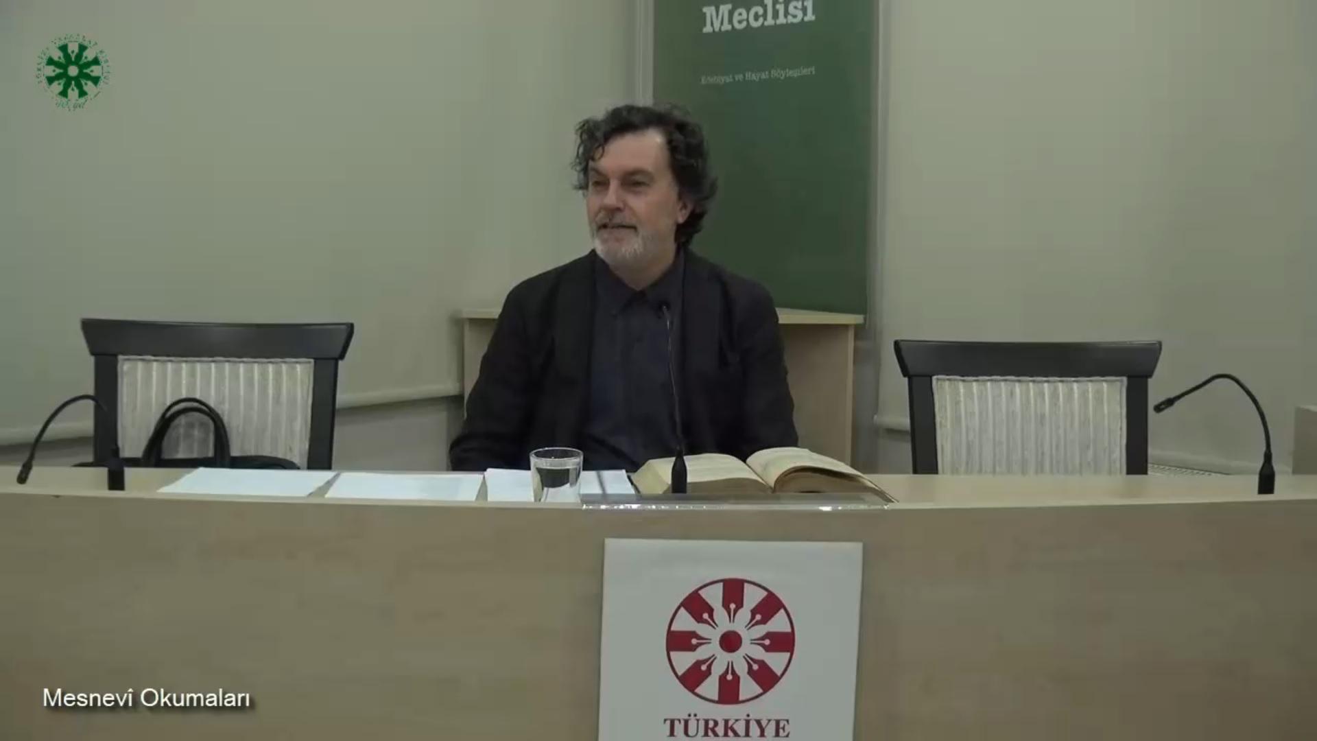 Mesnevî Okumaları - 48 - Prof. Dr. Hicabi Kırlangıç
