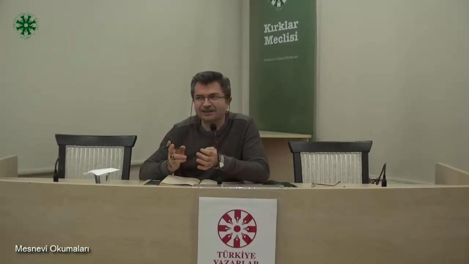 Mesnevî Okumaları -49- Dr. Fahrettin Coşguner