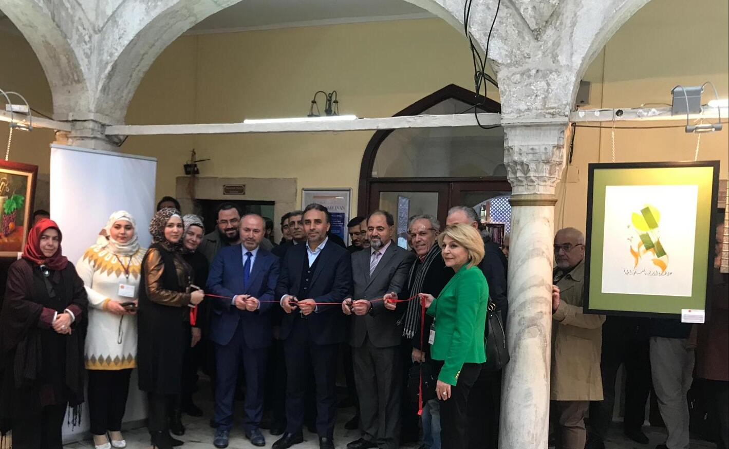 Armoni Resim Sergisi TYB İstanbul'da Açıldı