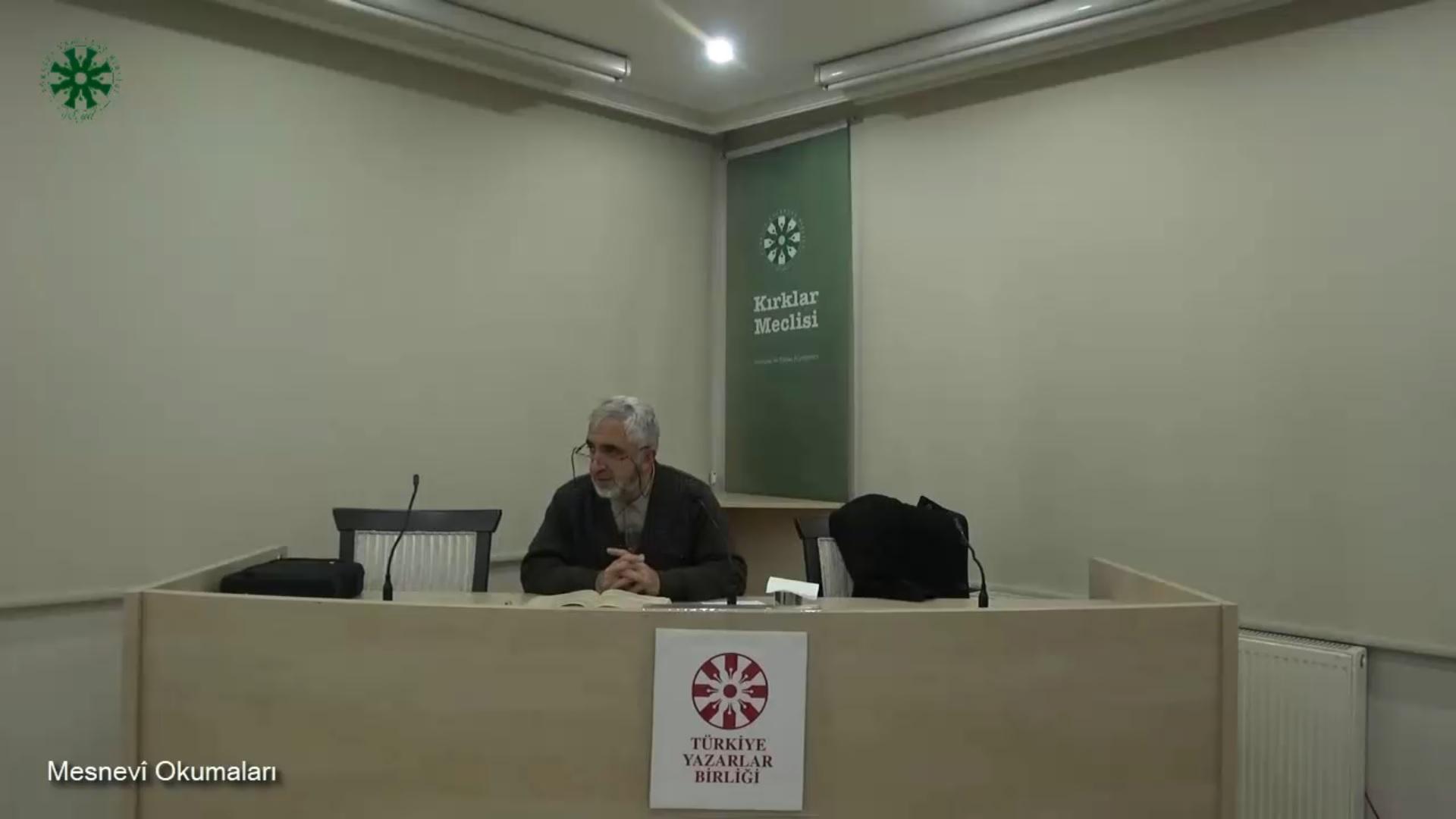 Mesnevî Okumaları -50- Prof. Dr. Zülfikar Güngör