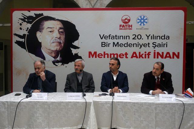 Mehmet Akif İnan vefatının 20. yılında anıldı