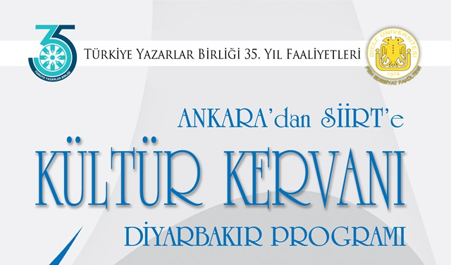"""""""Kültür Kervanı"""" iki gün Diyarbakır'da"""