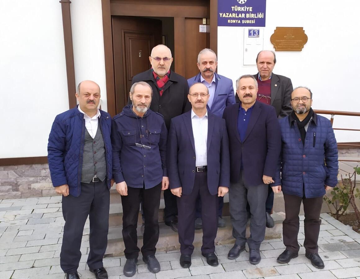 Ahmet Sorgun'dan Türkiye Yazarlar Birliği'ne tebrik ziyareti