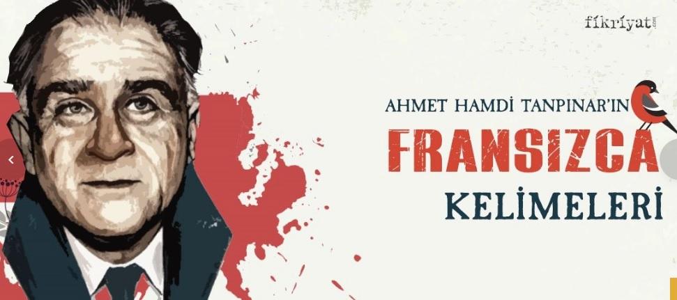 Ahmet Hamdi Tanpınar'ın kullandığı Fransızca kelimeler