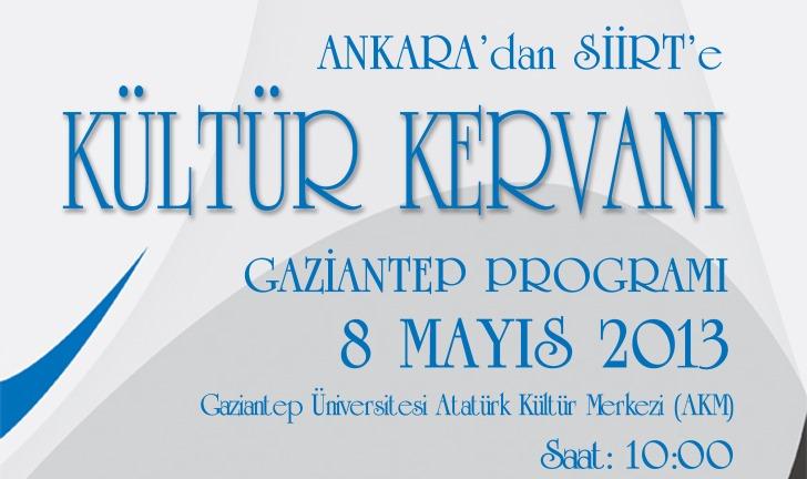 Kültür Kervanı Gaziantep'te