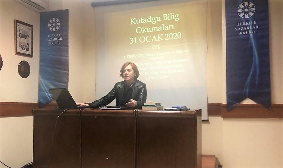 TYB Ankara Şubesinde Kutadgu Bilig okumaları devam ediyor