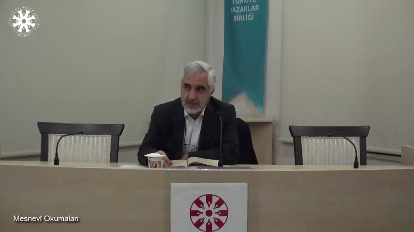 Mesnevî Okumaları -53- Prof. Dr. Zülfikar Güngör