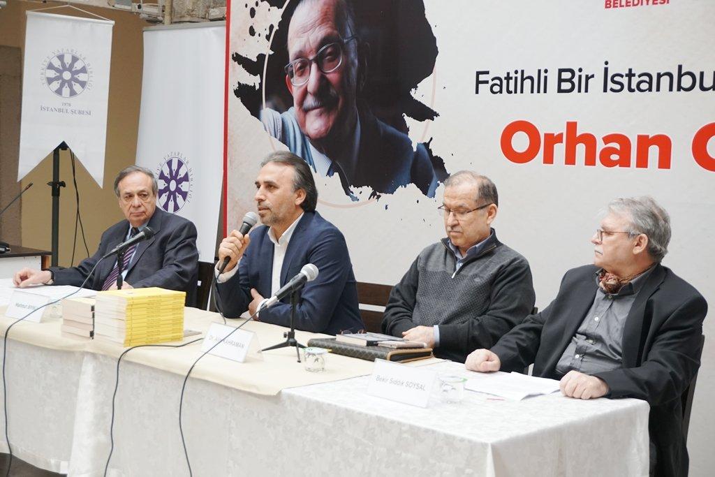 TYB İstanbul'da Orhan Okay Konuşuldu