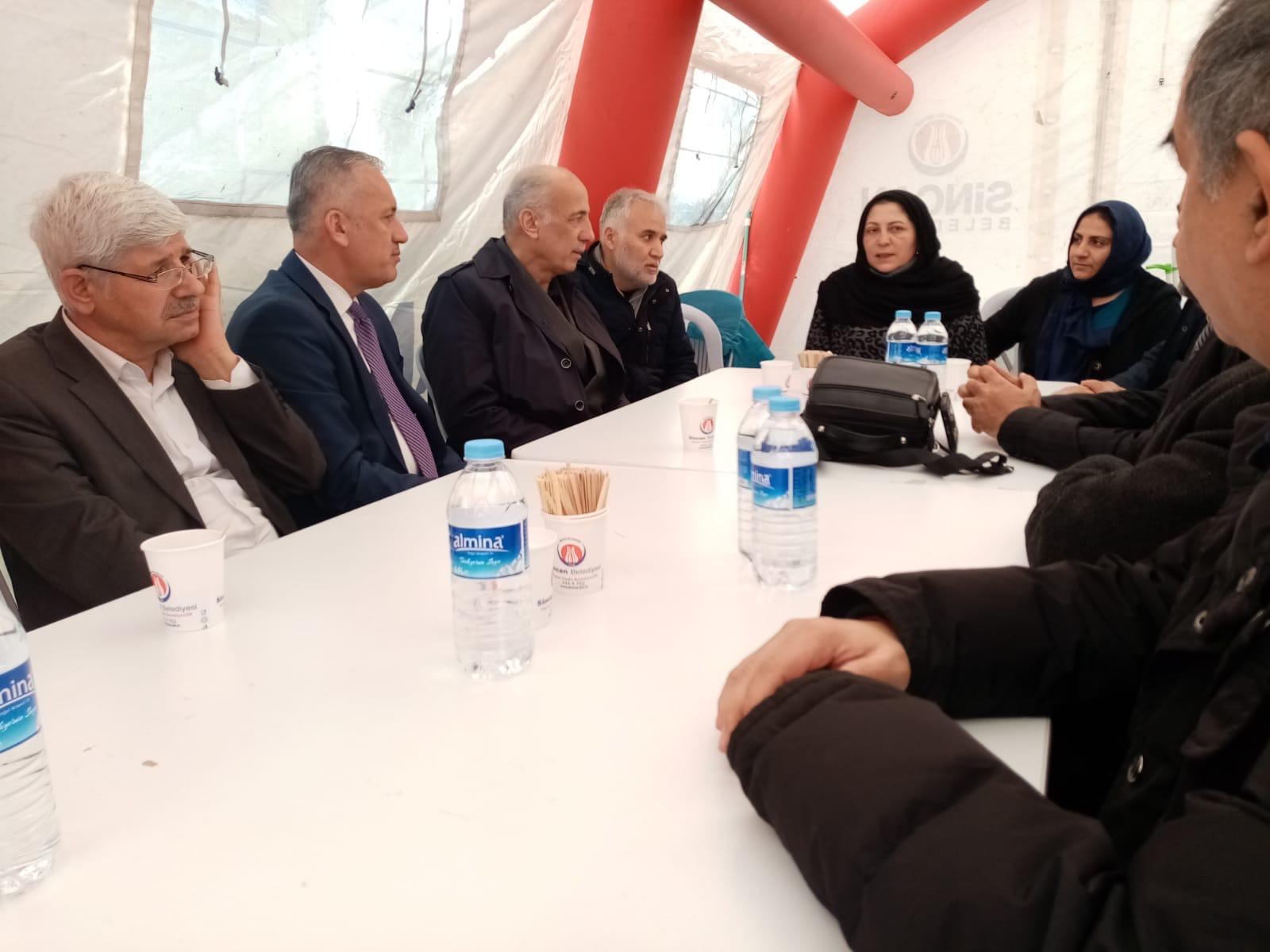 TYB Ankara Şube'den şehit annesine taziye ziyareti