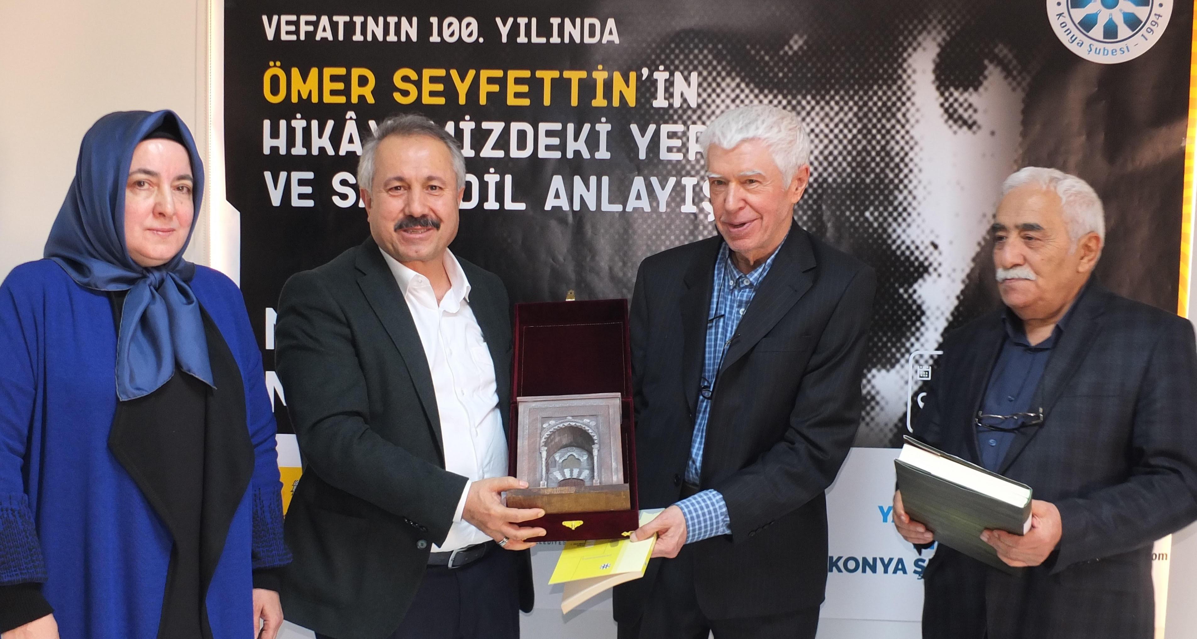 Konya'da Ömer Seyfettin'in  Dili Ve Eserleri Konuşuldu