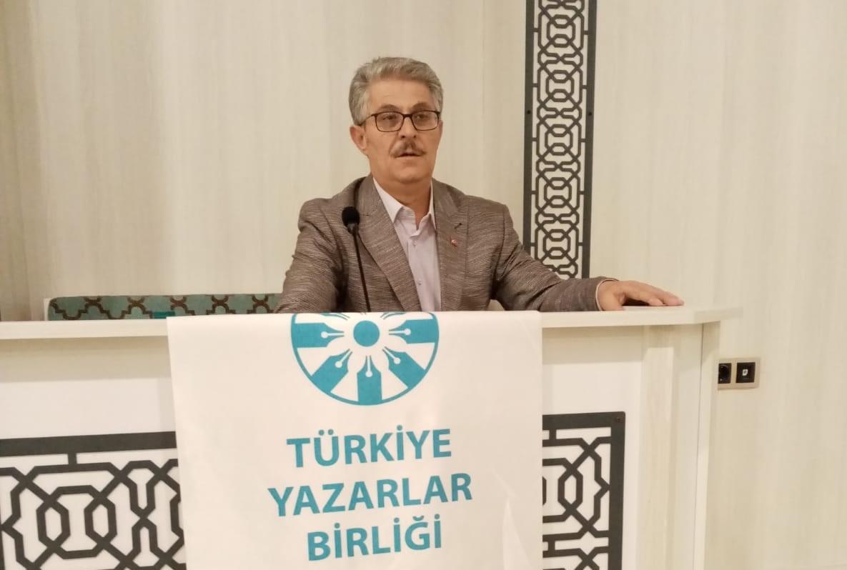 """Gazeteci Yazar Tacettin Sevil: """"Pusulamız inanç, tarih ve milliyet şuurudur"""""""