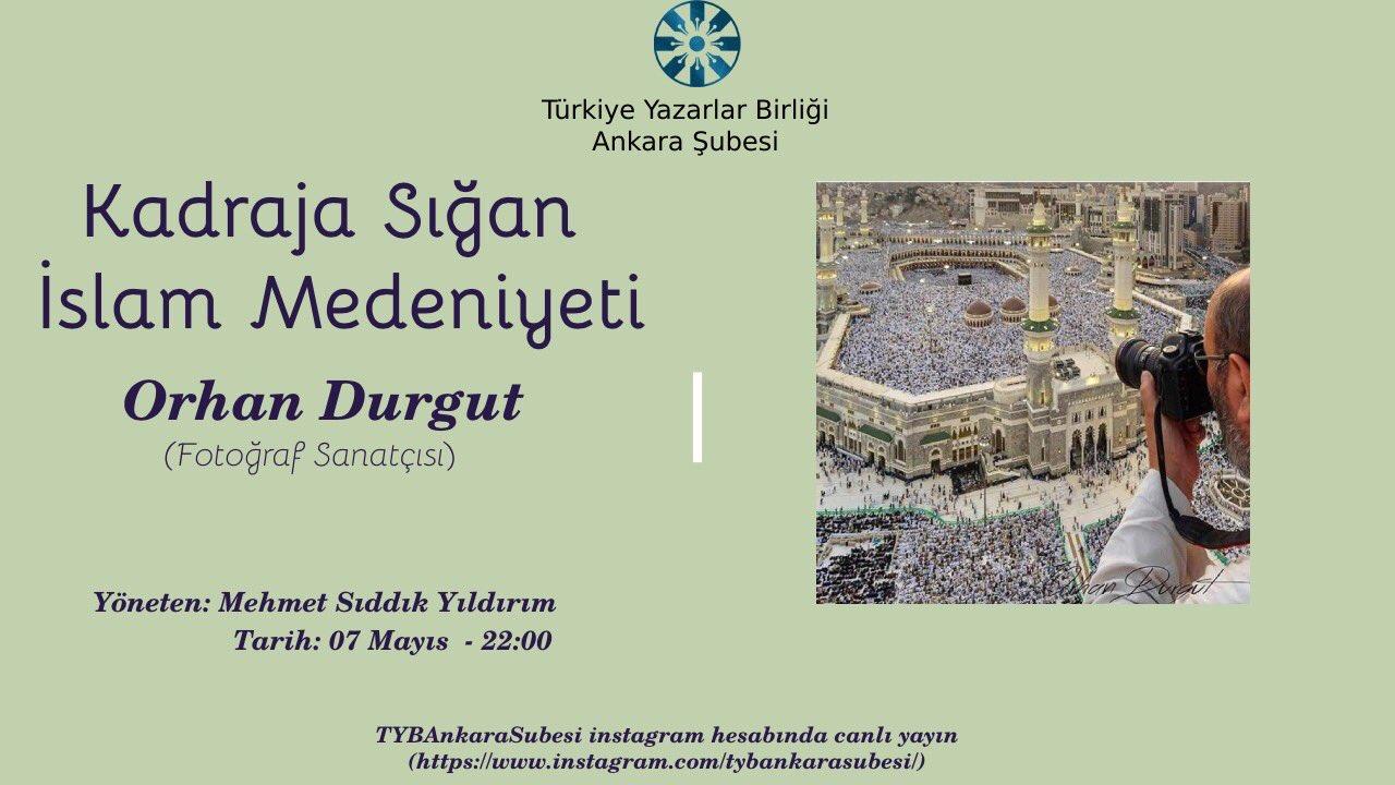 TYB Ankara Şubede Fotoğraf Sanatçılığı Konuşulacak