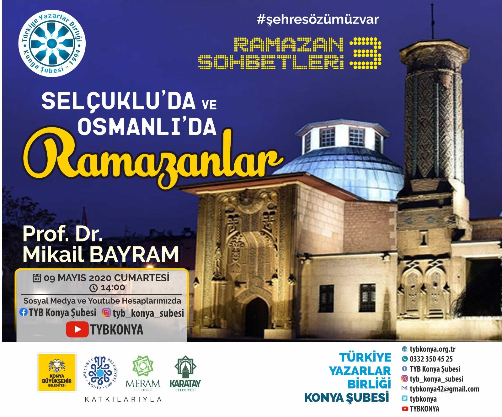 Selçuklu'da ve Osmanlı'da Ramazanlar
