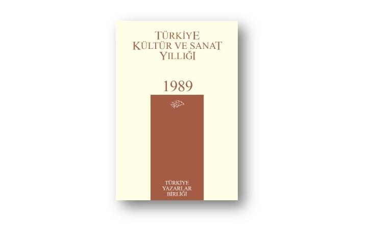 TYB'nin 6.Yayını:1989 Kültür Sanat Yıllığı