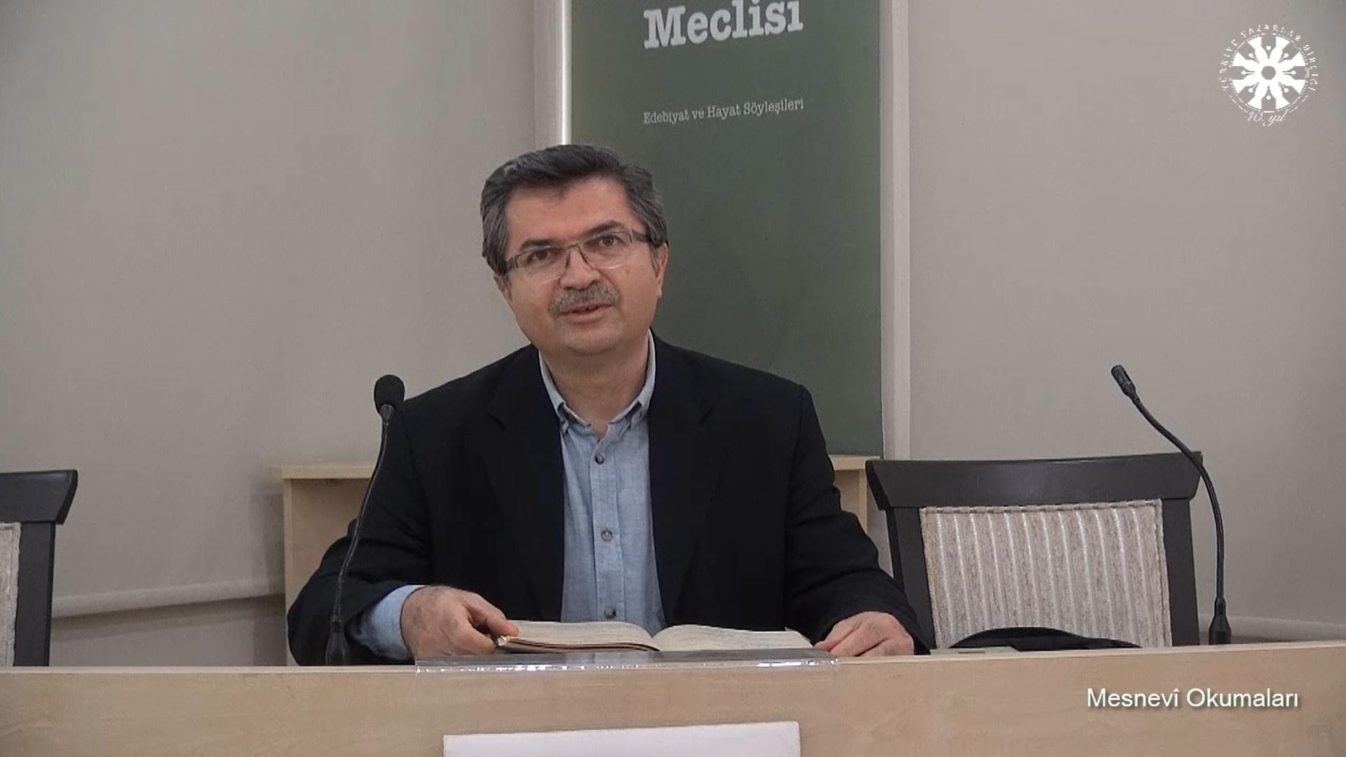 Mesnevî Okumaları -63- Dr. Fahrettin Coşguner