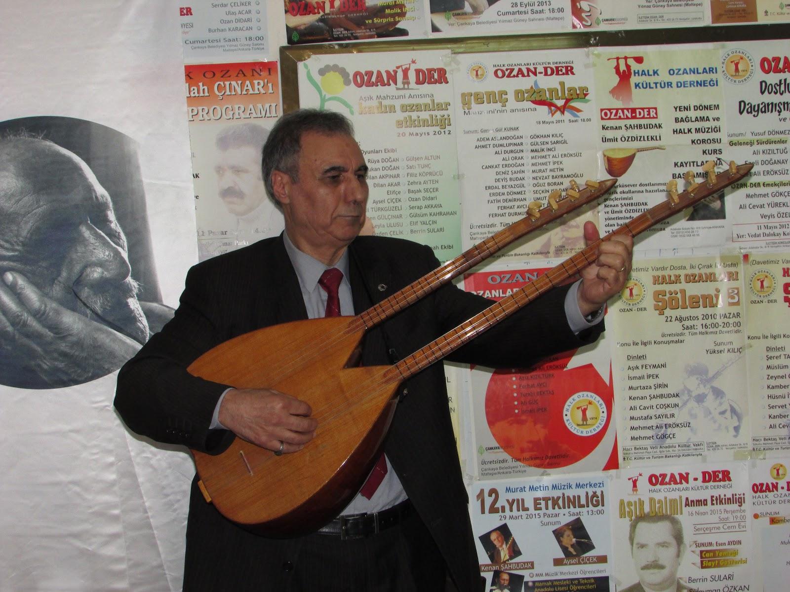 Aşık Selahattin Dündar Ankara Şubesinde