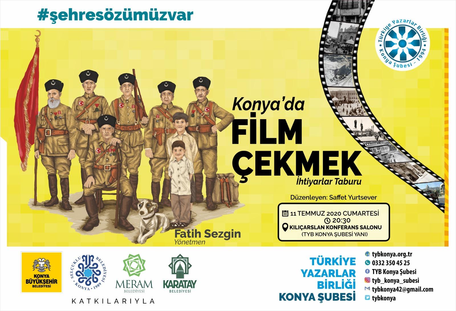 """Konya'da Film Çekmek """"İHTİYARLAR TABURU"""""""