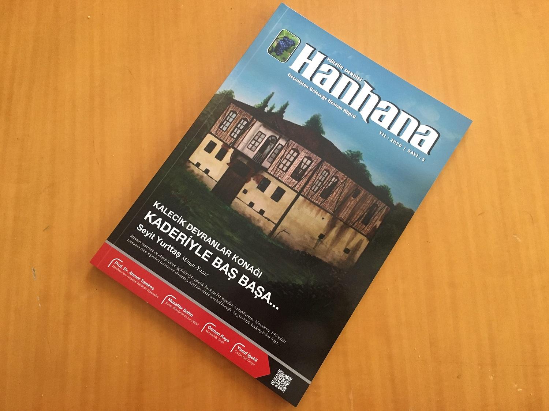 Hanhana, köklü bir Ankara ilçesinin kültür dergisi