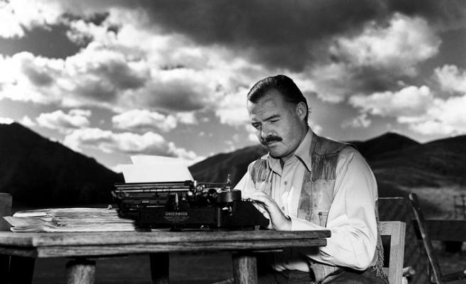 Ernest Hemingway'in hayatı da adeta bir macera romanı