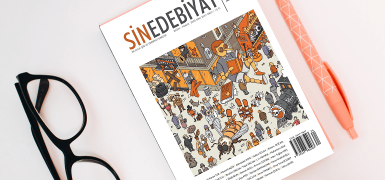 """Sin Edebiyat Dergisi'nin 24. Sayısı """"Kaos, Düzen Ve Entropi"""" Başlığıyla Yayımlandı!"""