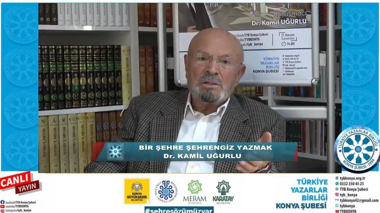 """Konya'da """"Bir Şehre Şehrengiz Yazmak"""" Konuşuldu"""