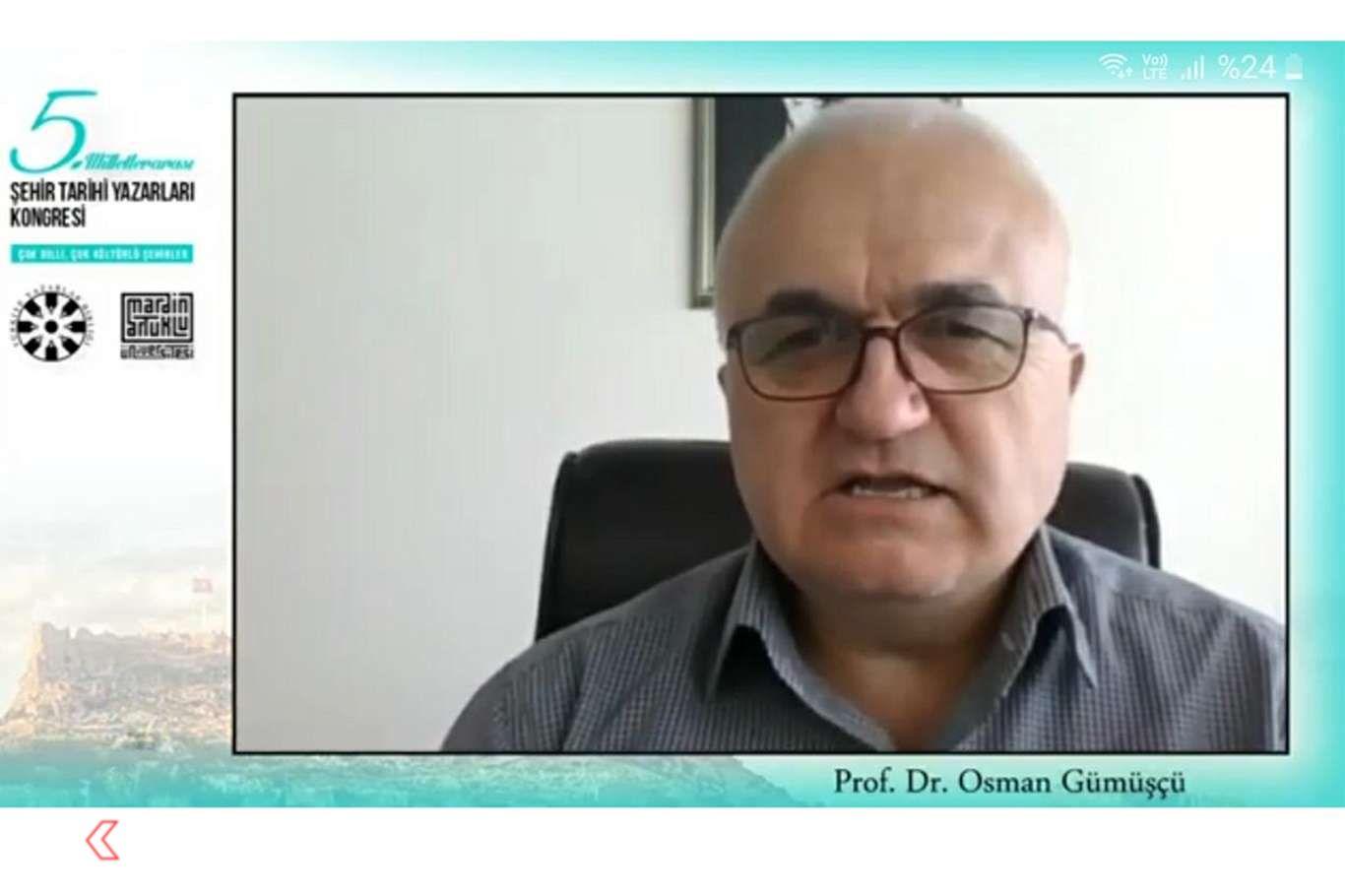 """Mardin'de """"Milletlerarası Şehir Tarihi Yazarları Kongresi"""" başladı"""