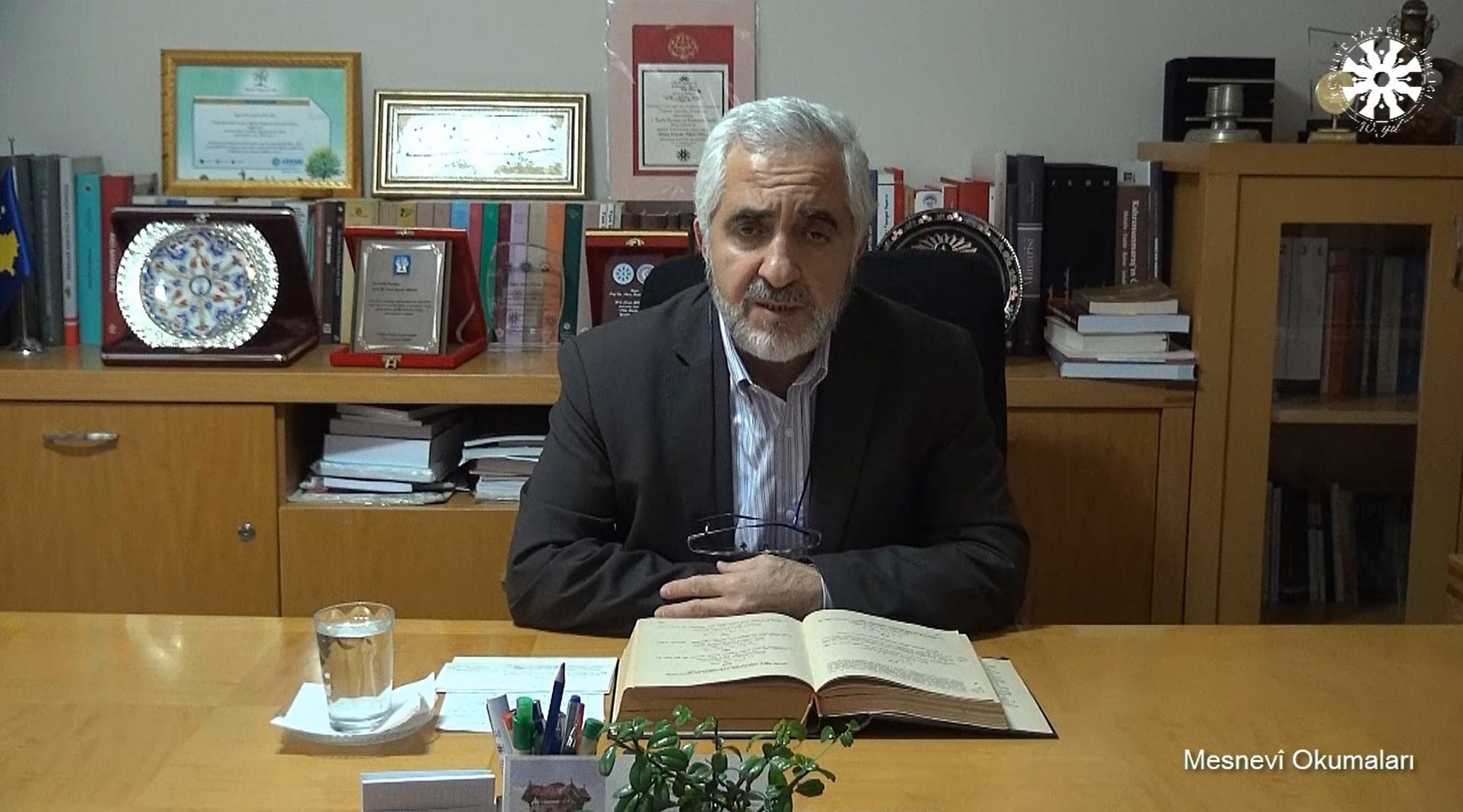 Mesnevî Okumaları -81- Prof. Dr. Zülfikar Güngör