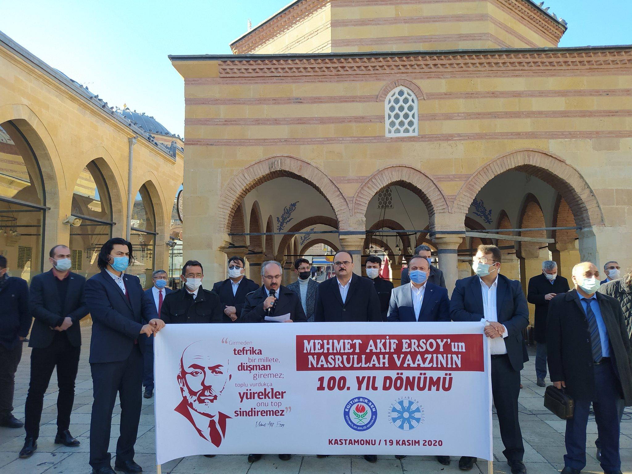 Mehmed Âkif Araştırmaları Merkezi'nden İstiklâl Marşı'nın 100. Yılı faaliyetleri