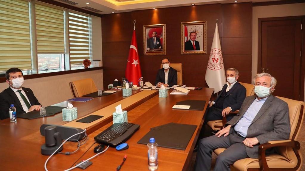 Başkanlardan Gençlik ve Spor Bakanını Ziyaret