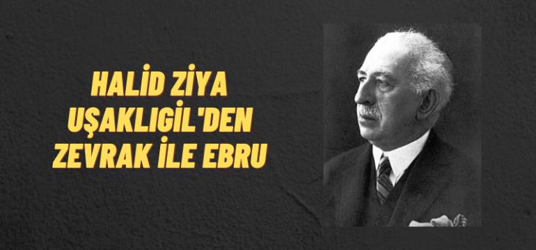 Halid Ziya Uşaklıgil, Zevrak ile Ebru