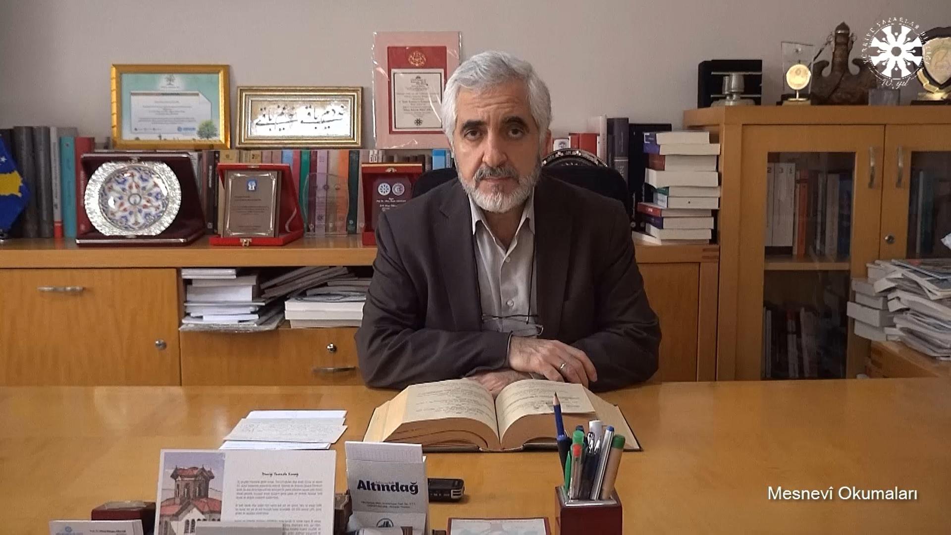 Mesnevî Okumaları -91- Prof. Dr. Zülfikar Güngör