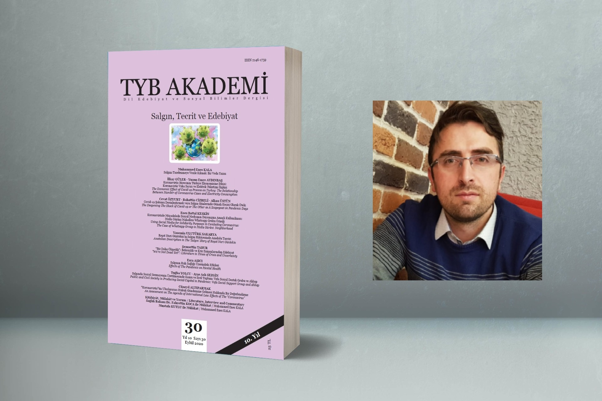 """Şemsettin Tabur: """"Henüz Ölmedik"""": Belirsizlik ve Kriz Zamanlarından Edebiyat"""