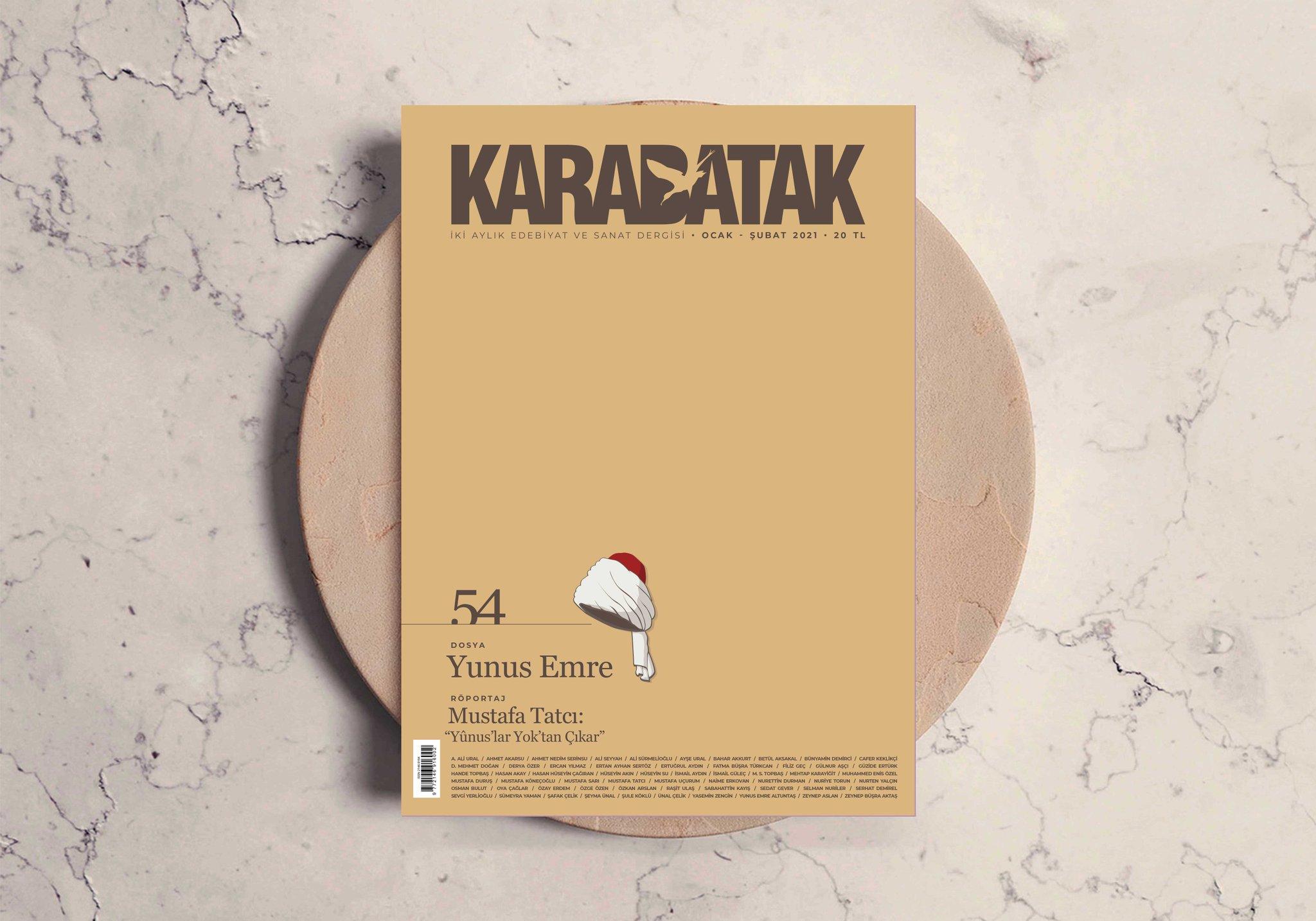 Karabatak dergisinin 54. Sayısı çıktı