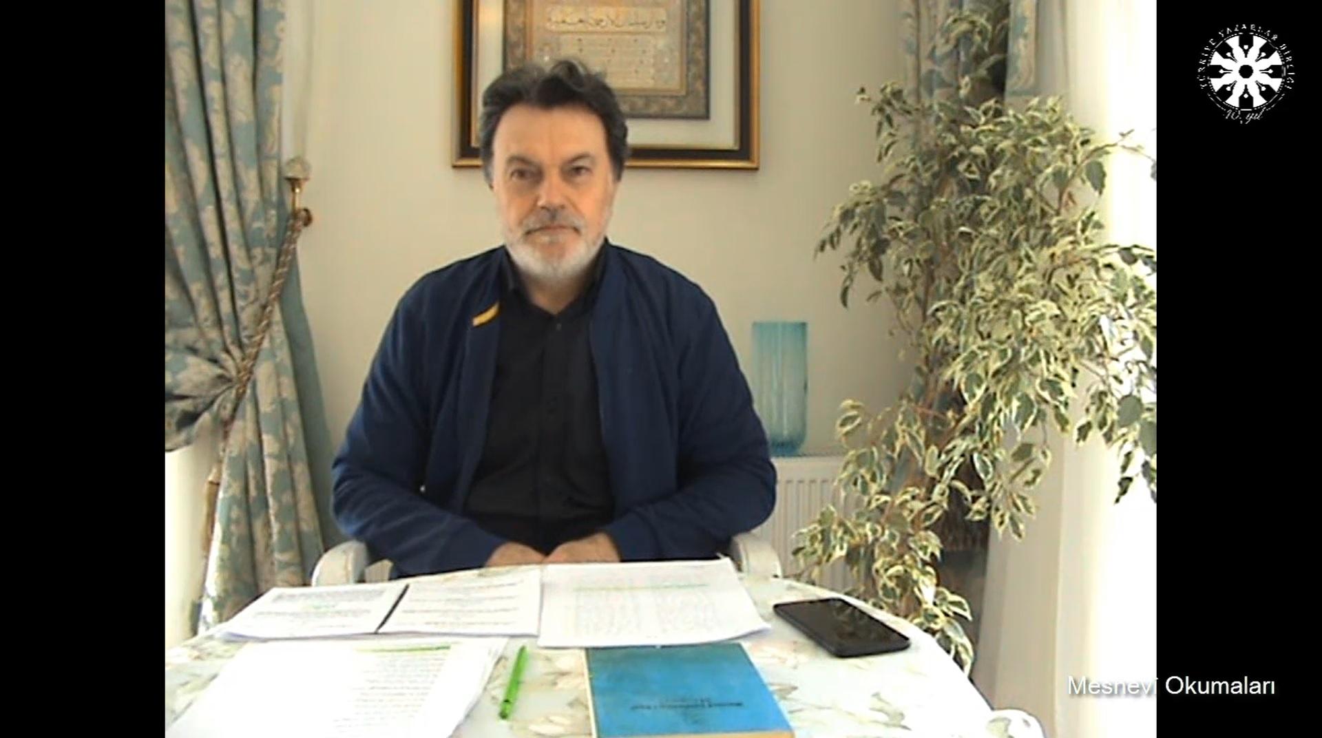 Mesnevî Okumaları -95- Prof. Dr. Hicabi Kırlangıç