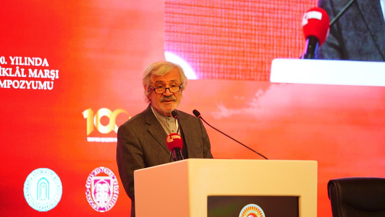 TYB Şeref Başkanı D. Mehmet Doğan'ın İstiklâl Marşı Büyük Bilgi Şöleni açış konuşması