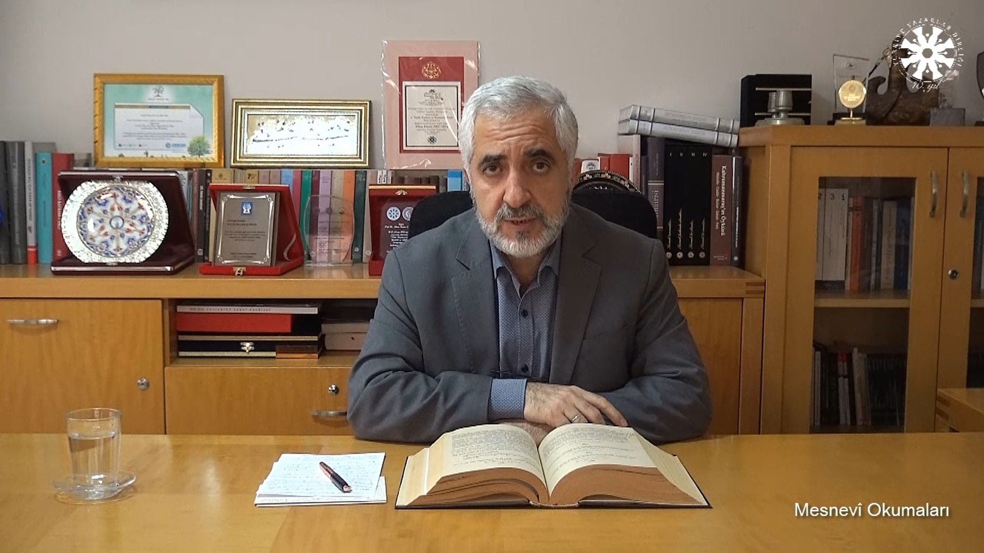 Mesnevî Okumaları -96- Prof. Dr. Zülfikar Güngör