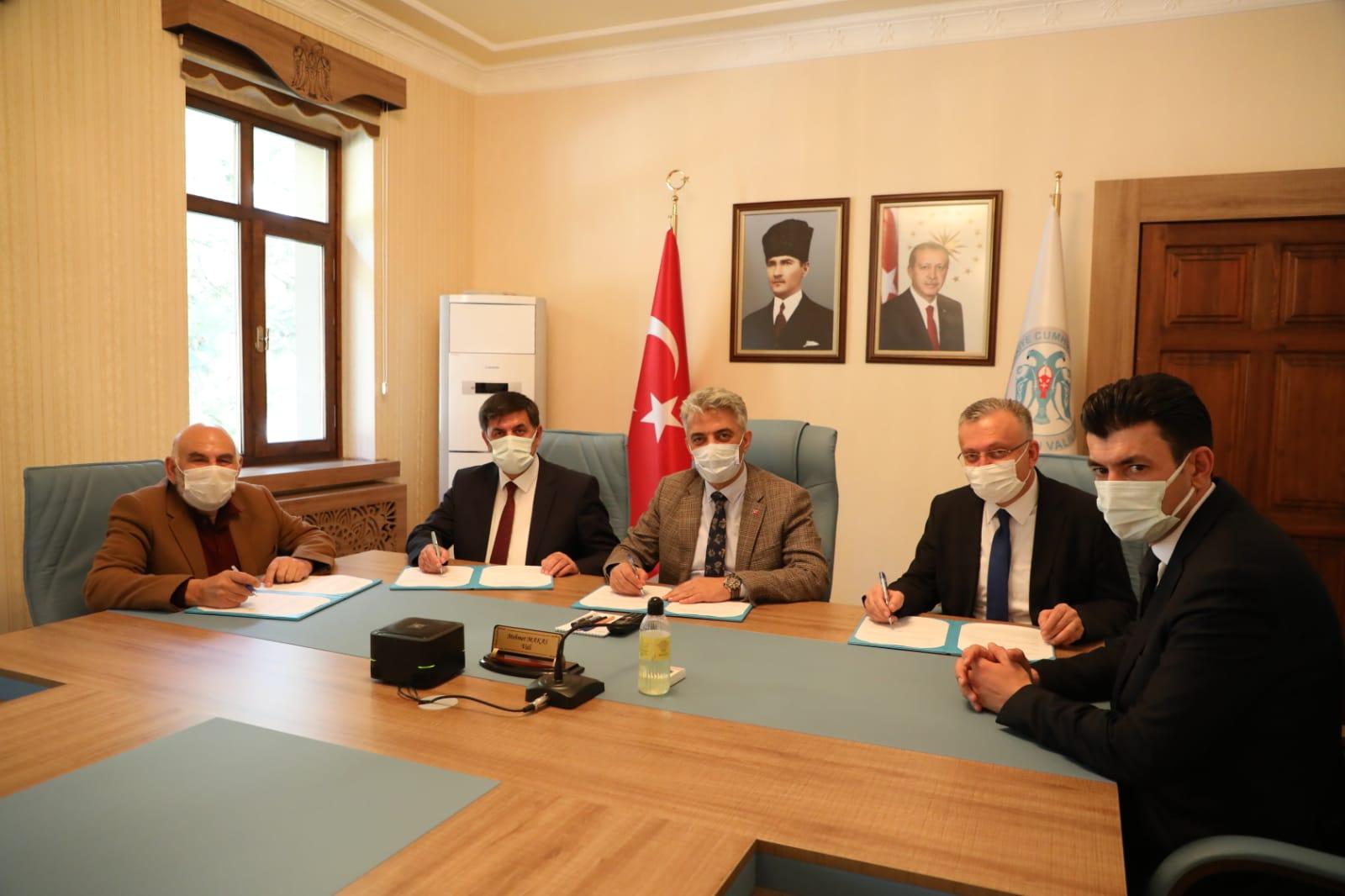 Erzincan'da İş Birliği Protokolü İmzalandı