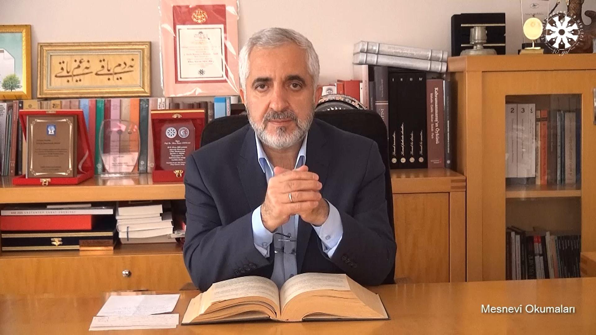Mesnevî Okumaları -101- Prof. Dr. Zülfikar Güngör