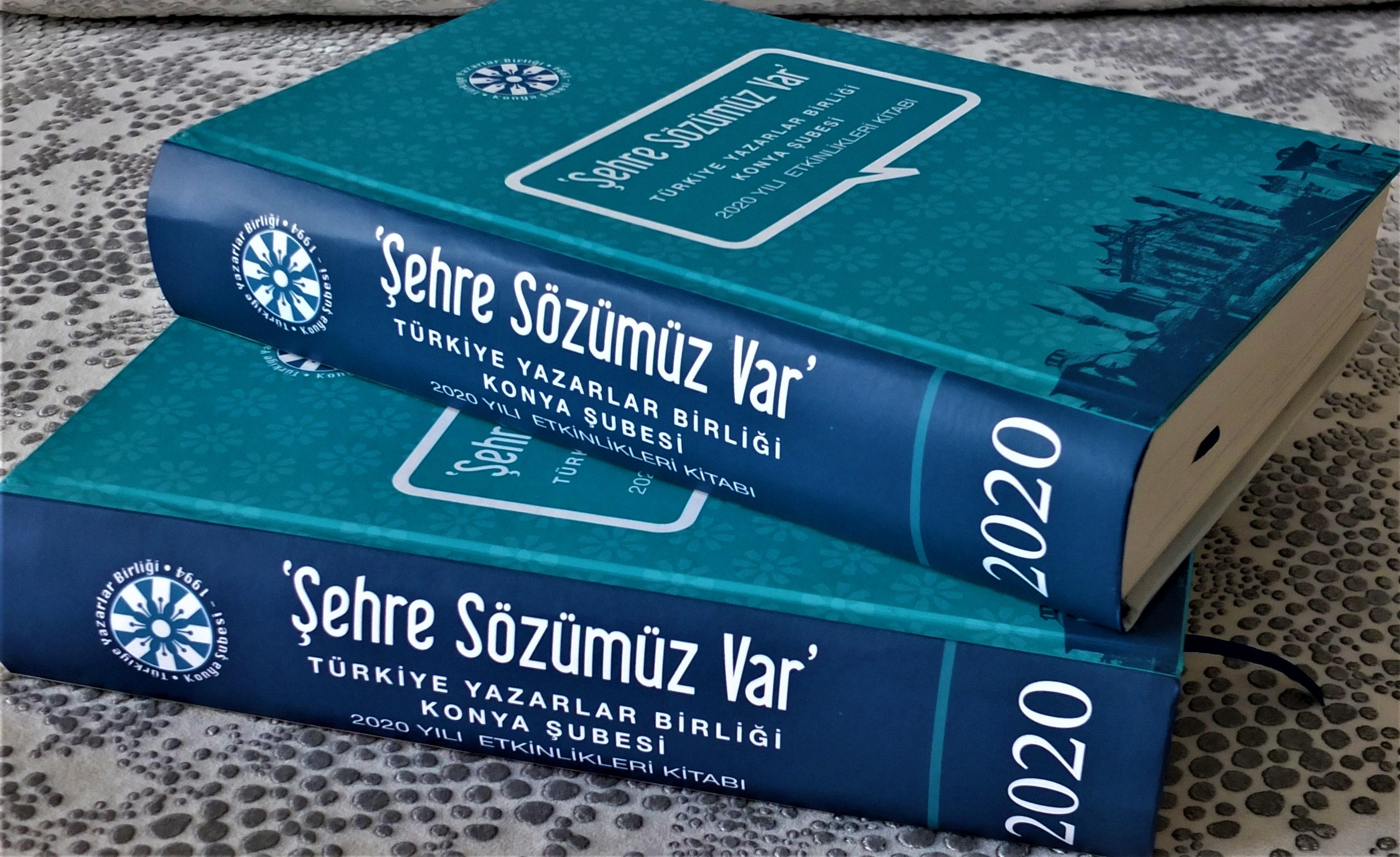 """TYB Konya Şubesi'nden """"Şehre Sözümüz Var- 2020 Etkinlikleri Kitabı"""""""