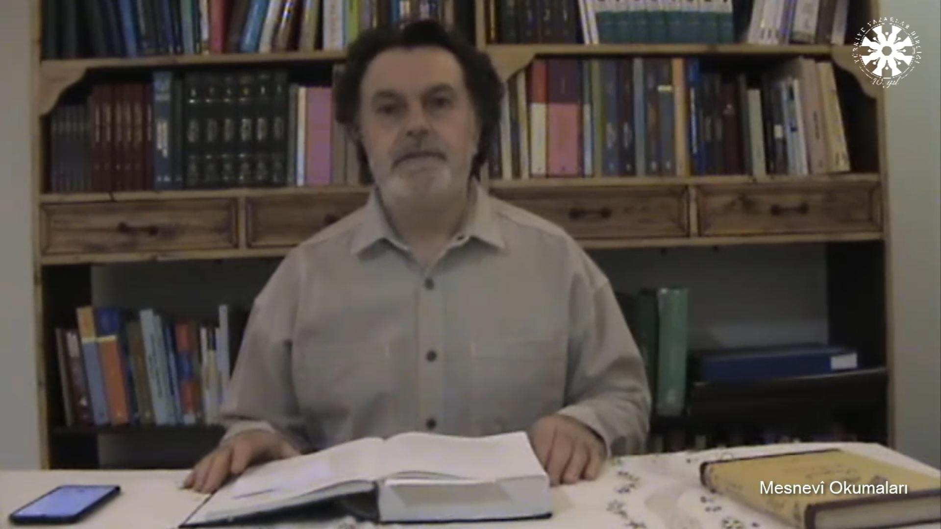 Mesnevî Okumaları -104- Prof. Dr. Hicabi Kırlangıç