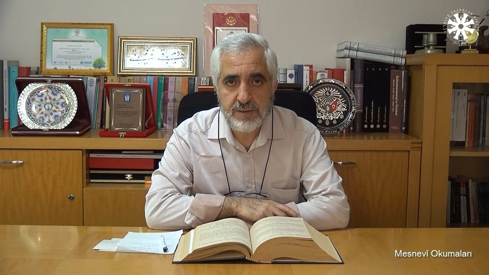 Mesnevî Okumaları -105- Prof. Dr. Zülfikar Güngör